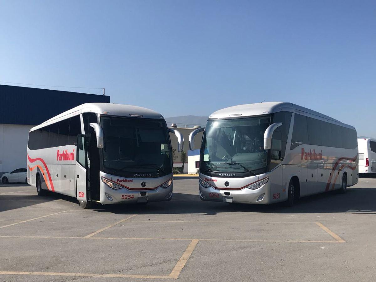Mercedes-Benz Autobuses y Parhikuni renuevan transporte turístico en Michoacán