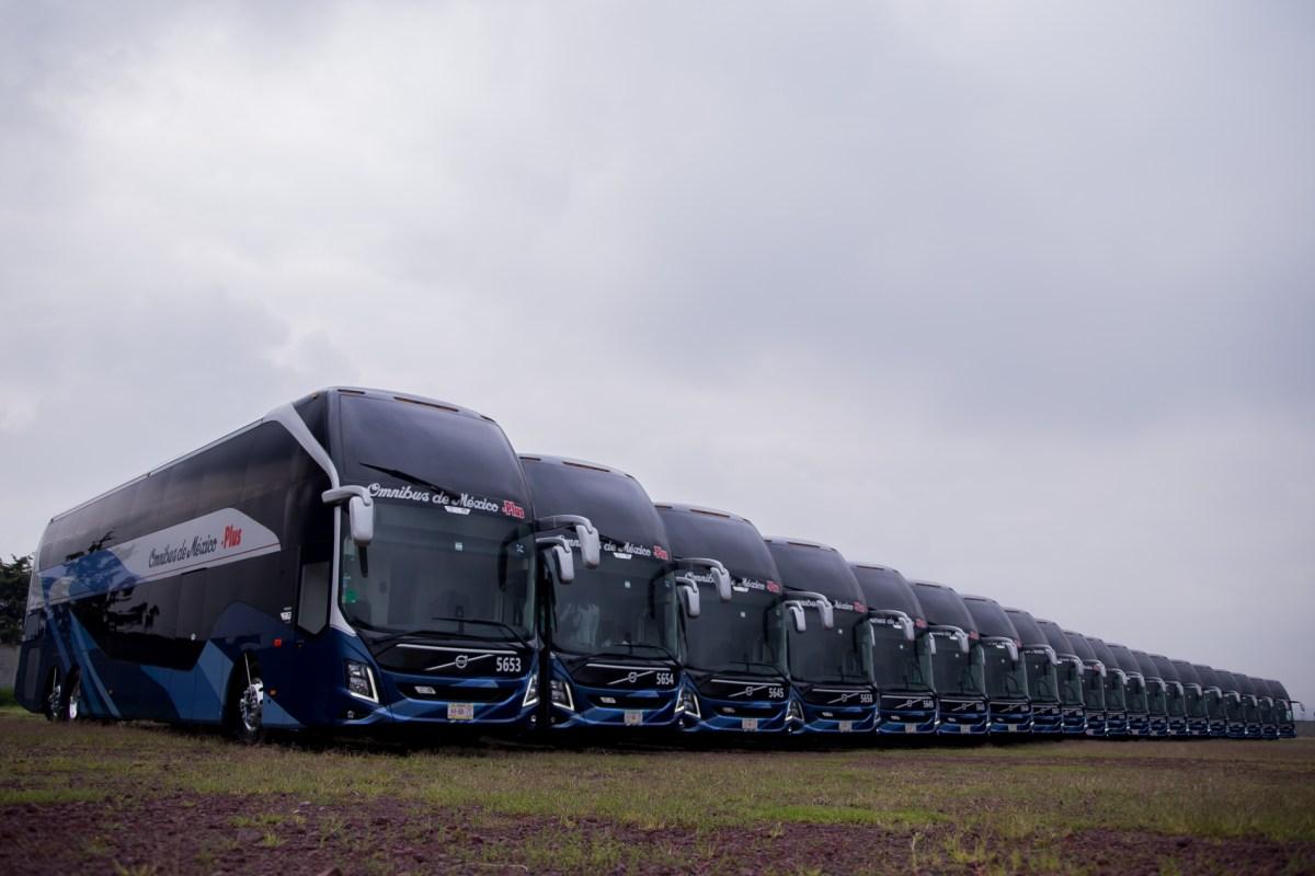 Ómnibus de México adquiere unidades del más alto nivel con Volvo Buses