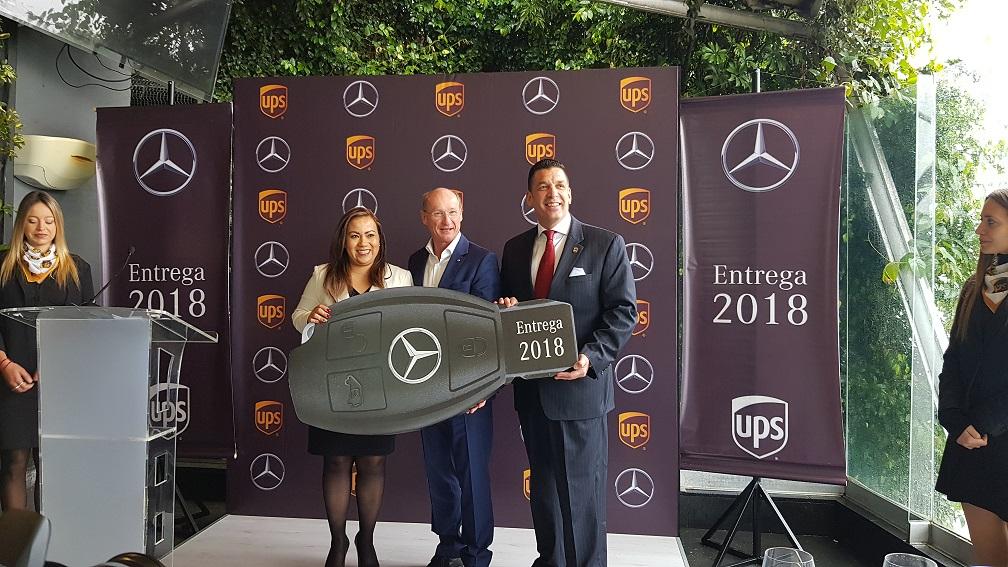 UPS México, con lo mejor de Mercedes-Benz en su flota