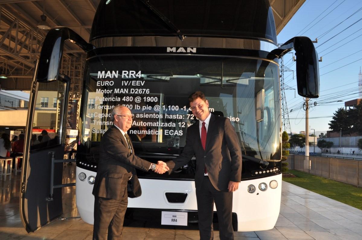 Camiones Europeos Toluca, primer MAN Bus Center