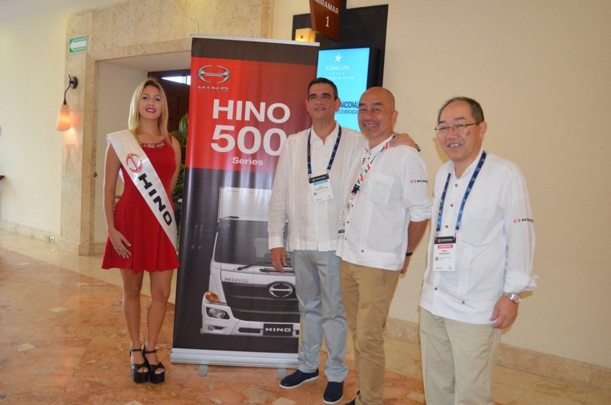 Hino presenta en México su renovada Serie 500