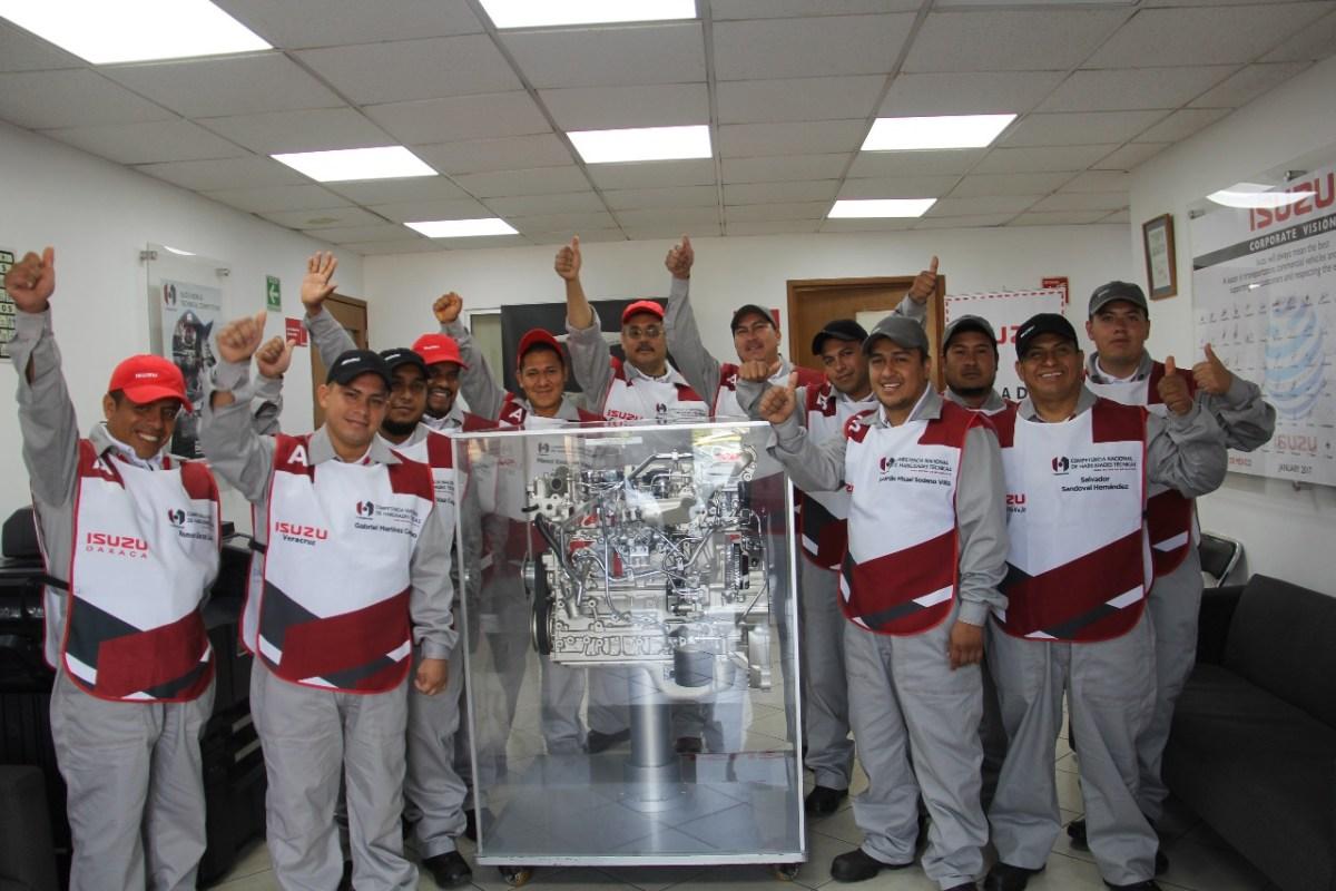 Isuzu San Luis, ganador en la Competencia Nacional de Habilidades Técnicas