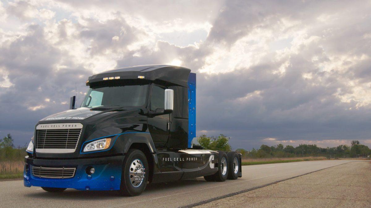 Cummins desarrolla camión cero emisiones