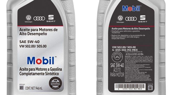 ExxonMobil, con lubricantes exclusivos para Volkswagen