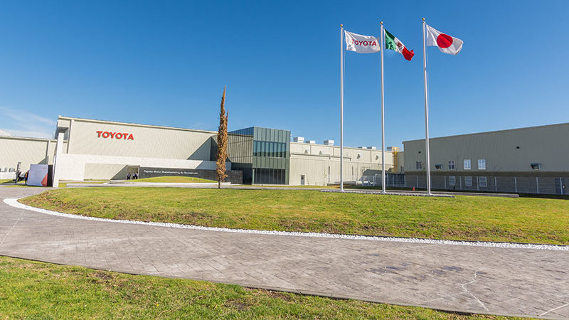 Inaugura Toyota planta de manufactura en Guanajuato