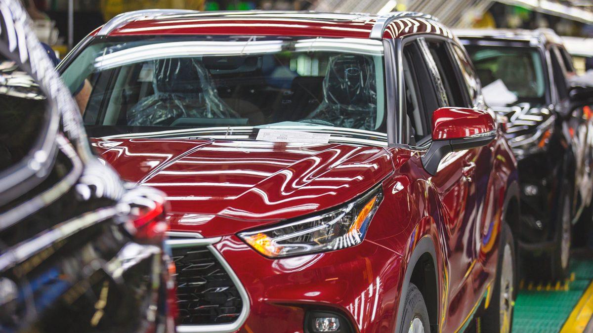 Producción de Toyota en Norteamérica se reanudará hasta el 4 de mayo