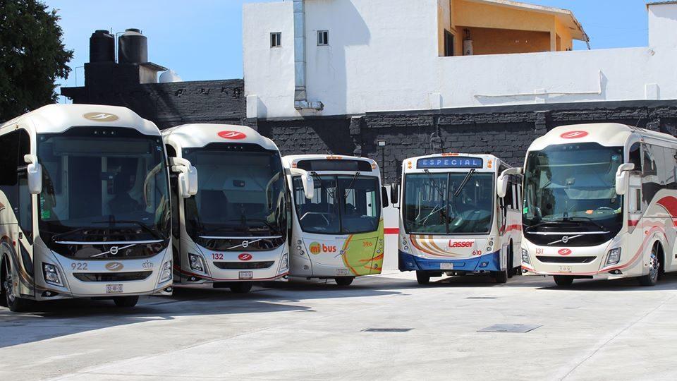 Pullman de Morelos transporta gratis a personal de salud