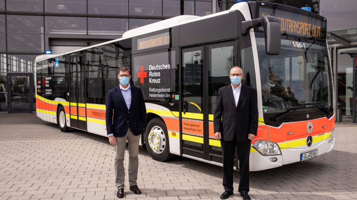 Daimler Buses convierte Citaro en ambulancia para pacientes con COVID-19