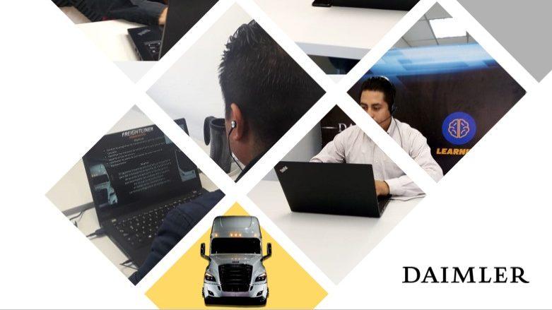 Impulsa Daimler profesionalización a través del aprendizaje a distancia