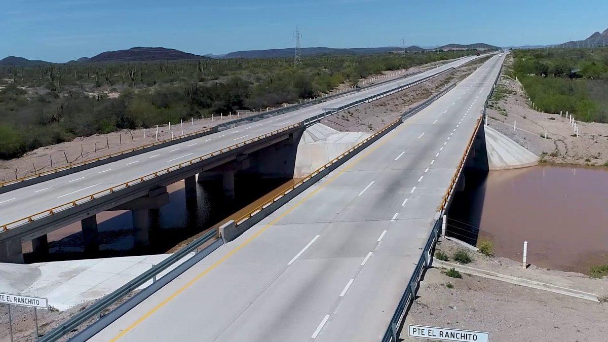 ACCIONA concluye obras en carretera Cd. Obregón-Guaymas