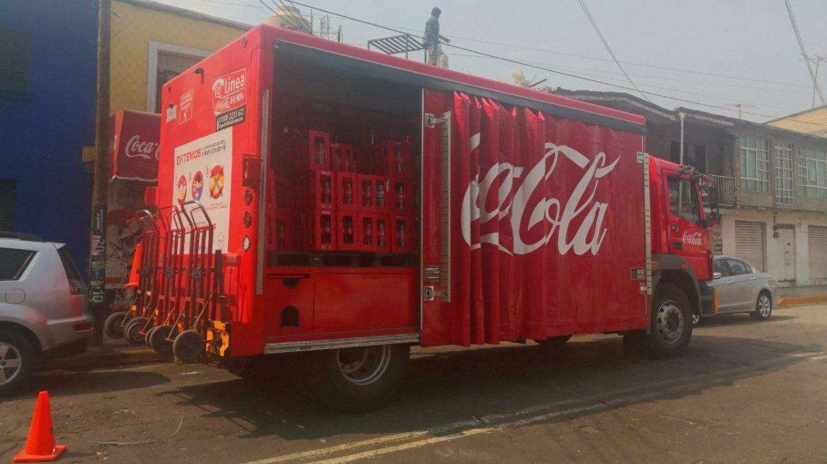 Listo, protocolo sanitario para camiones de reparto en CDMX