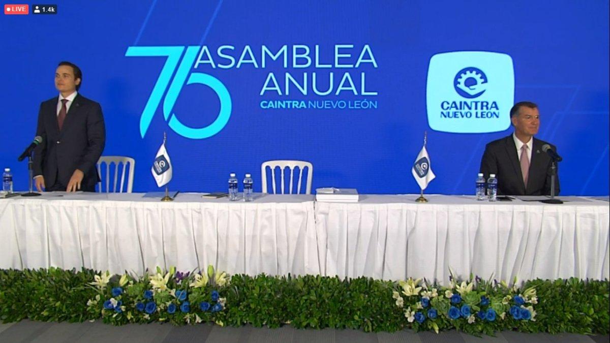 Realiza CAINTRA Nuevo León su 76 Asamblea Anual