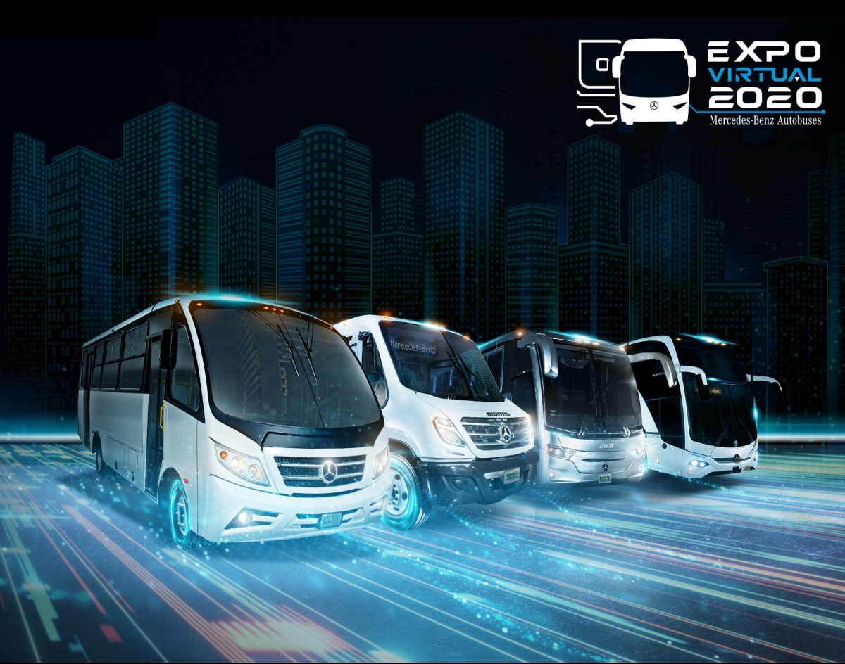 Mercedes-Benz Autobuses rompe paradigmas con Expo Virtual 2020