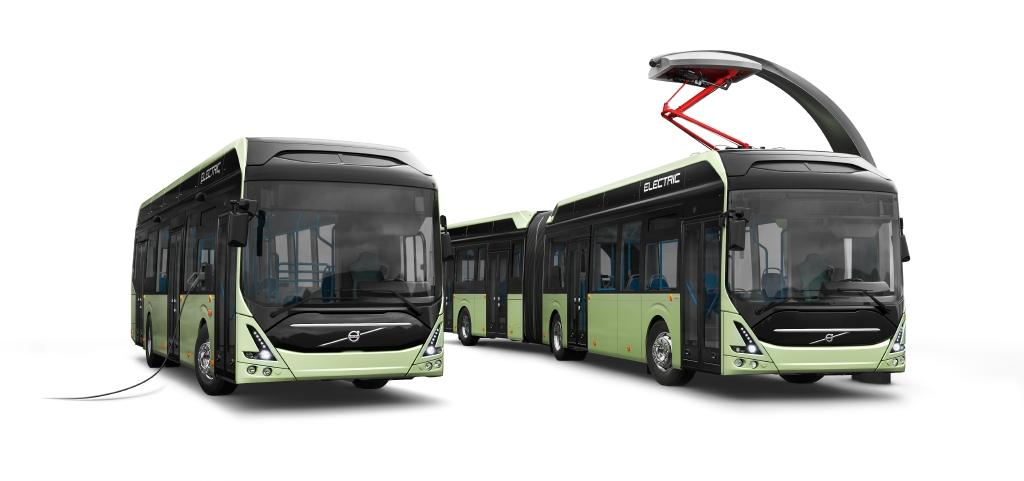 Autobuses Volvo eléctricos circularán en la zona más septentrional del mundo