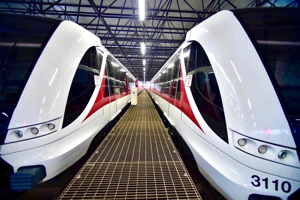 Inaugura AMLO Línea 3 del Tren Ligero de Guadalajara
