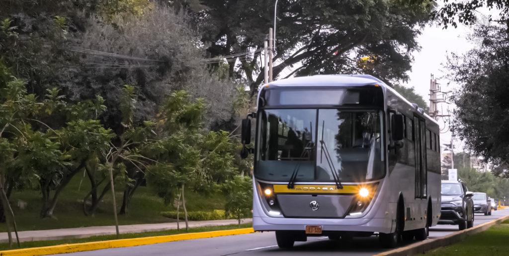 Engie y Modasa presentan primer bus 100% eléctrico en Perú