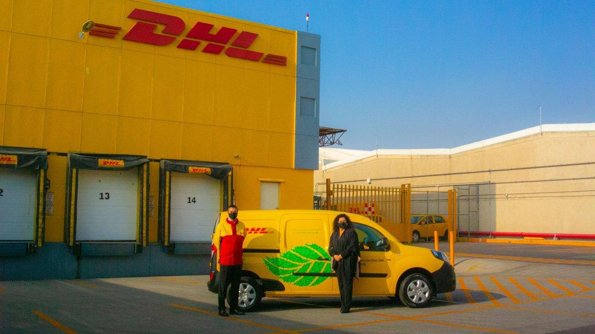 Renault, la primera flotilla eléctrica de DHL Express en México