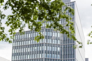 Daimler AG, con buen desempeño en el tercer trimestre de 2020