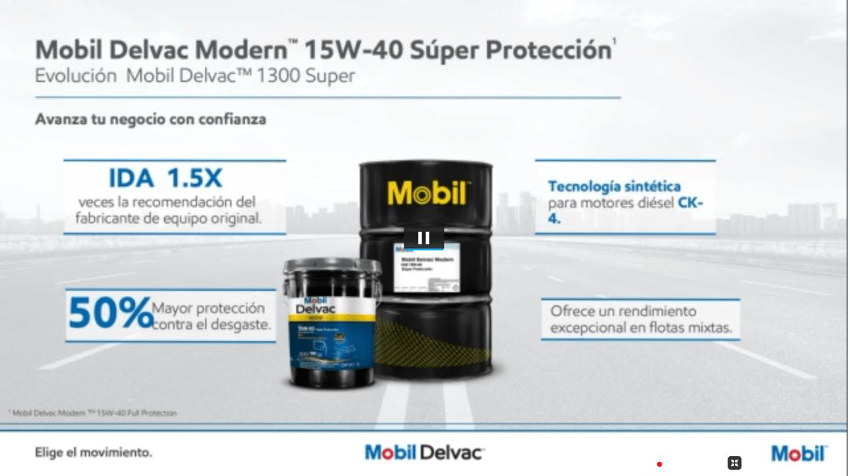 Presenta Mobil Delvac nuevos lubricantes en su 5to Foro de Productividad