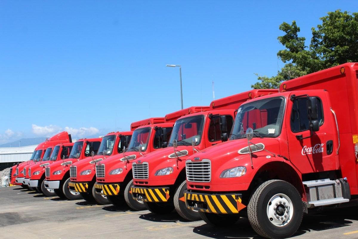 Embotelladora de Colima integra a su flota nuevas unidades Freightliner