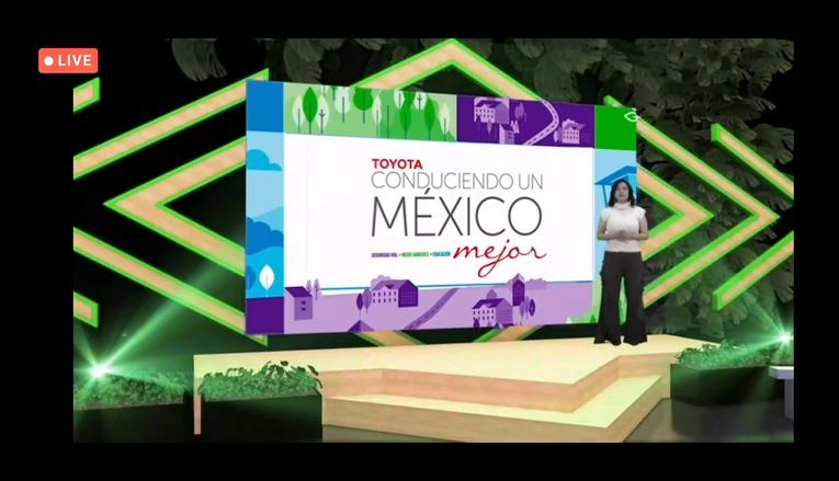 """Premia Toyota a ganadores 2020 de """"Toyota Conduciendo un México Mejor"""""""