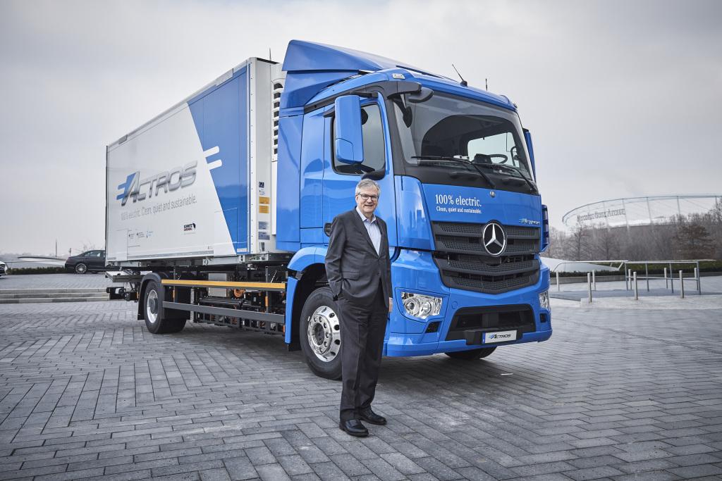 Martin Daum, CEO de Daimler Truck, encabeza la Junta de Vehículos Comerciales de ACEA