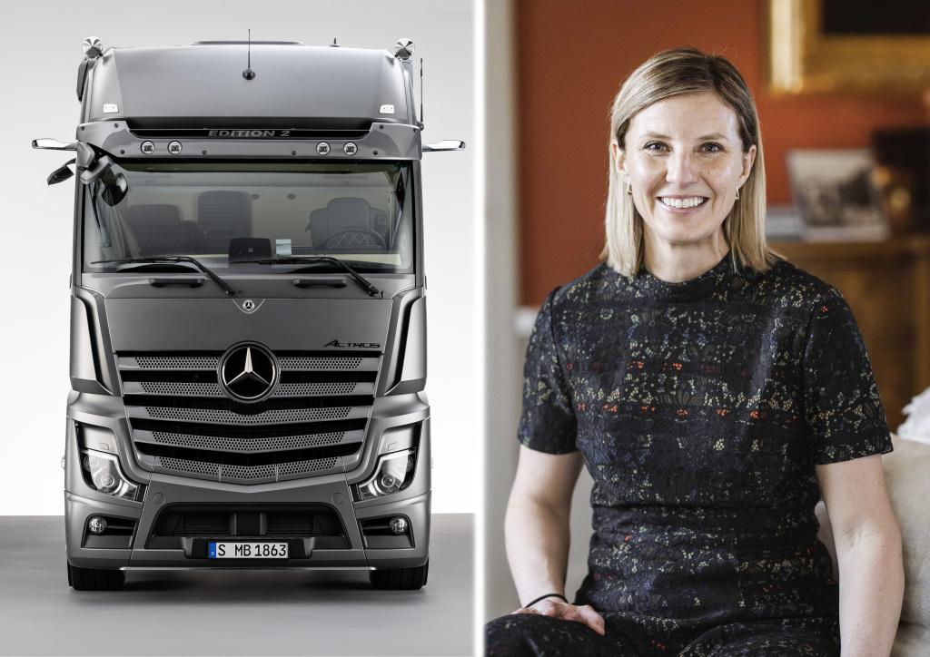 Karin Rådström asume responsabilidad al frente de Mercedes-Benz Trucks