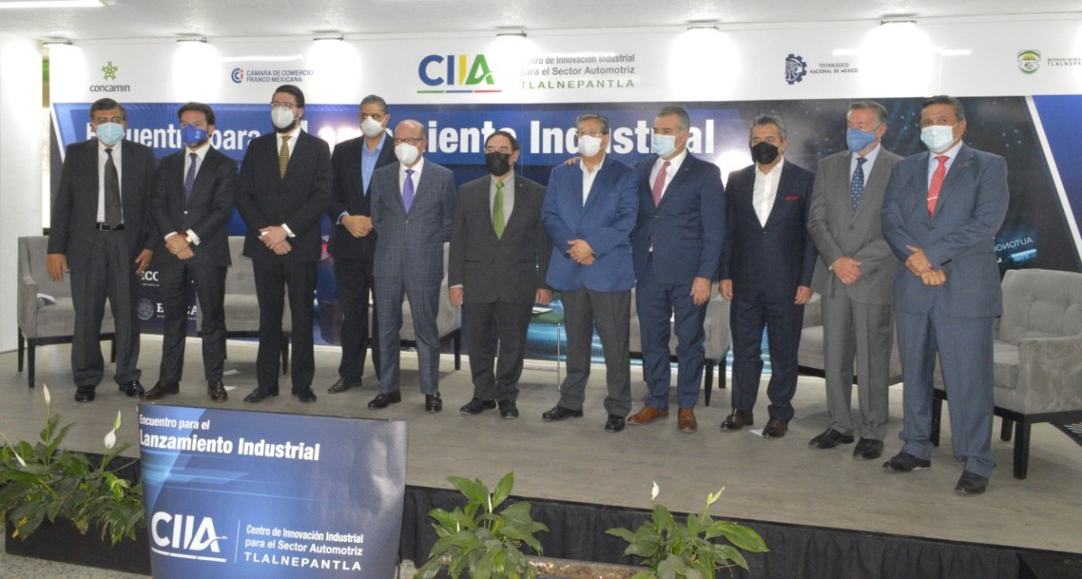 Inaugura CONCAMIN Centro de Innovación Industrial para el Sector Automotriz en Tlalnepantla