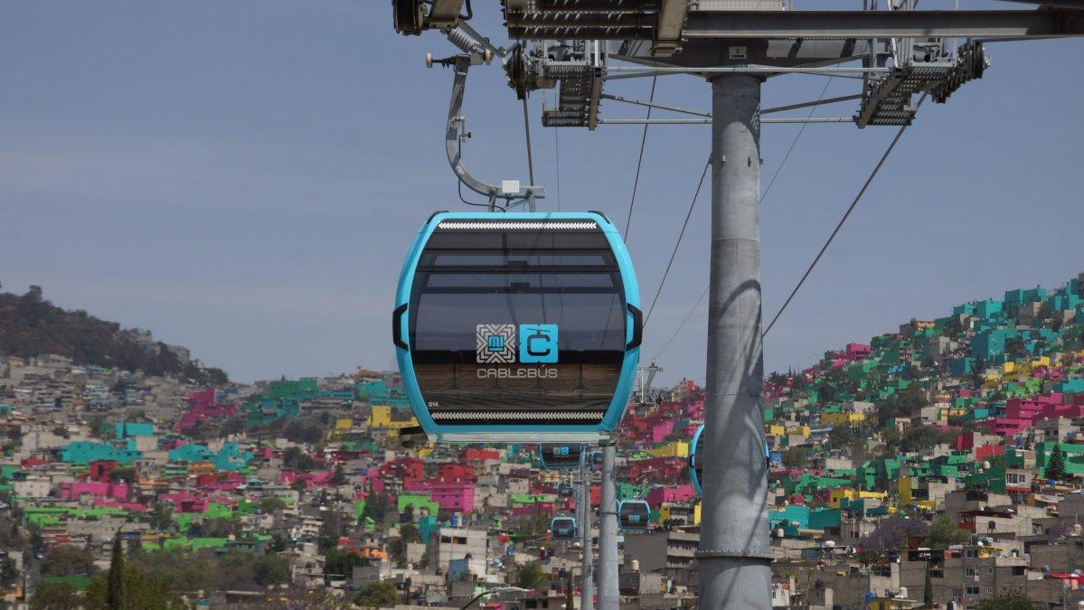Entra en operación Línea 1 del Cablebús con el tramo Tlalpexco-Campos Revolución