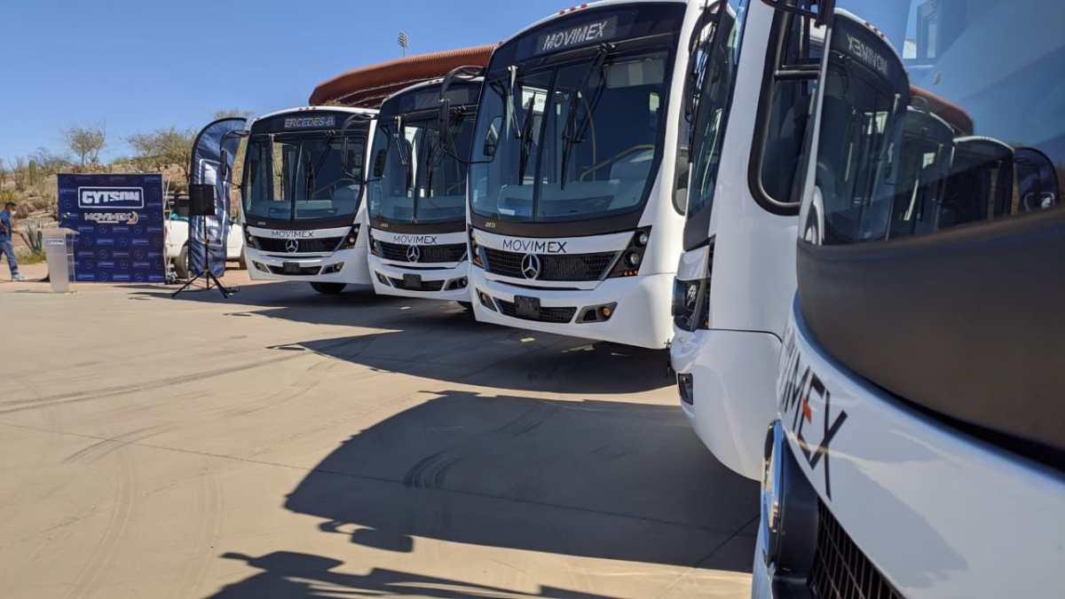 Mercedes-Benz Autobuses y CYTSON movilizan a los sonorenses