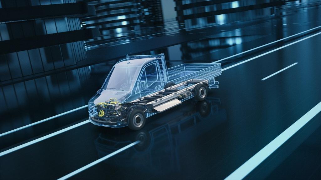 Nueva generación de Mercedes-Benz eSprinter se fabricará en tres plantas