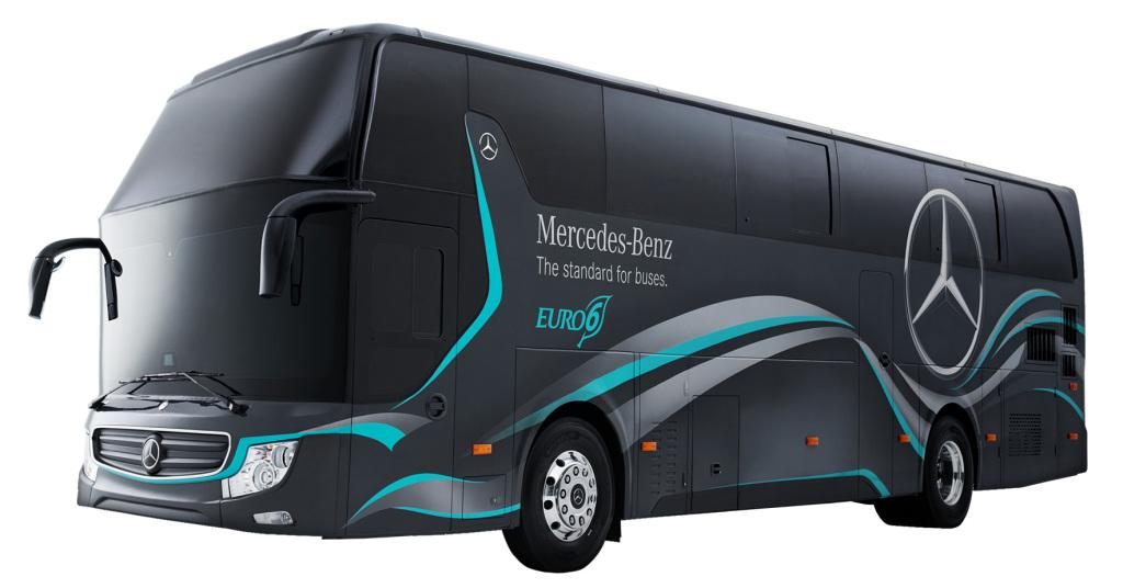 Lanza Mercedes-Benz primer autobús turístico Euro 6 en Taiwán