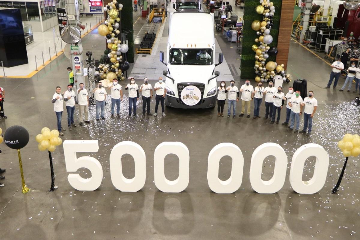 Daimler Planta Saltillo alcanza las 500 mil unidades producidas