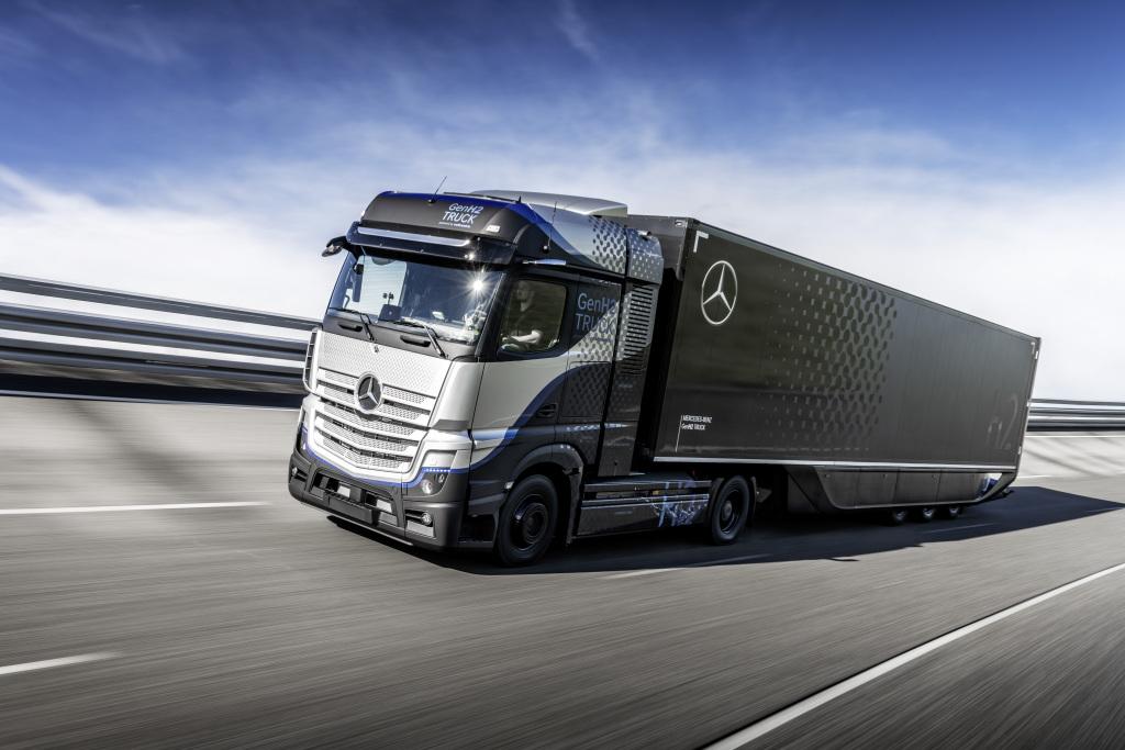 Daimler Truck y Shell impulsarán infraestructura y vehículos a hidrógeno en Europa