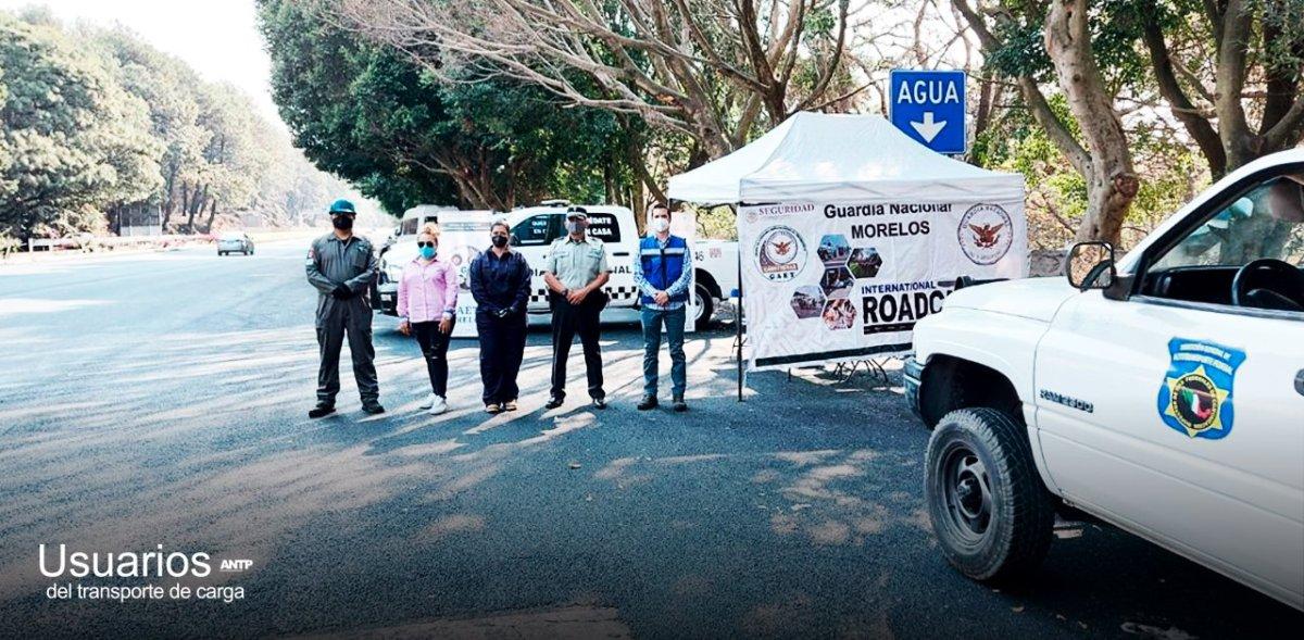 Participa ANTP en la Semana Internacional de Seguridad Roadcheck 2021