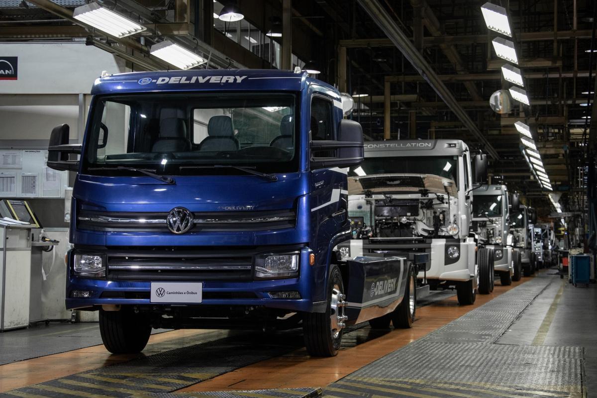 Inicia Volkswagen Camiones y Buses producción del e-Delivery en Brasil