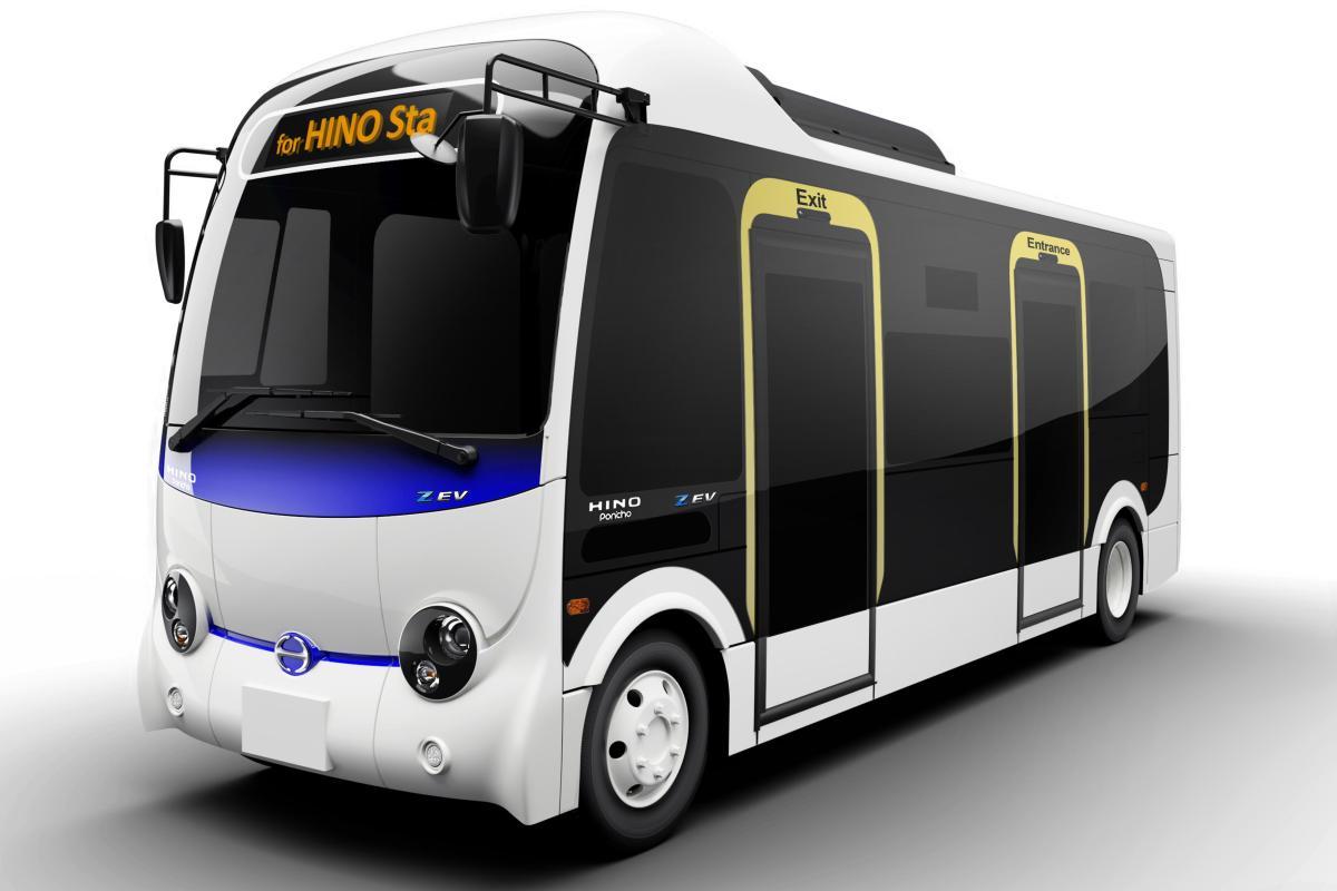 Hino Motors lanzará autobús eléctrico en Japón para 2022