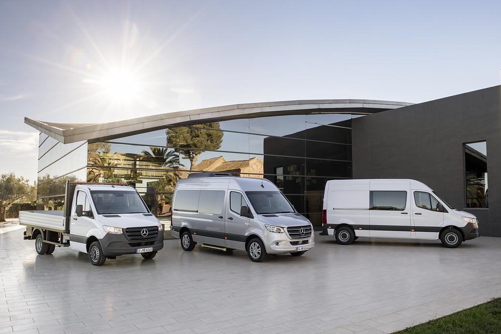 Incorpora Mercedes-Benz Vanes motor OM654 a todas las versiones de Sprinter