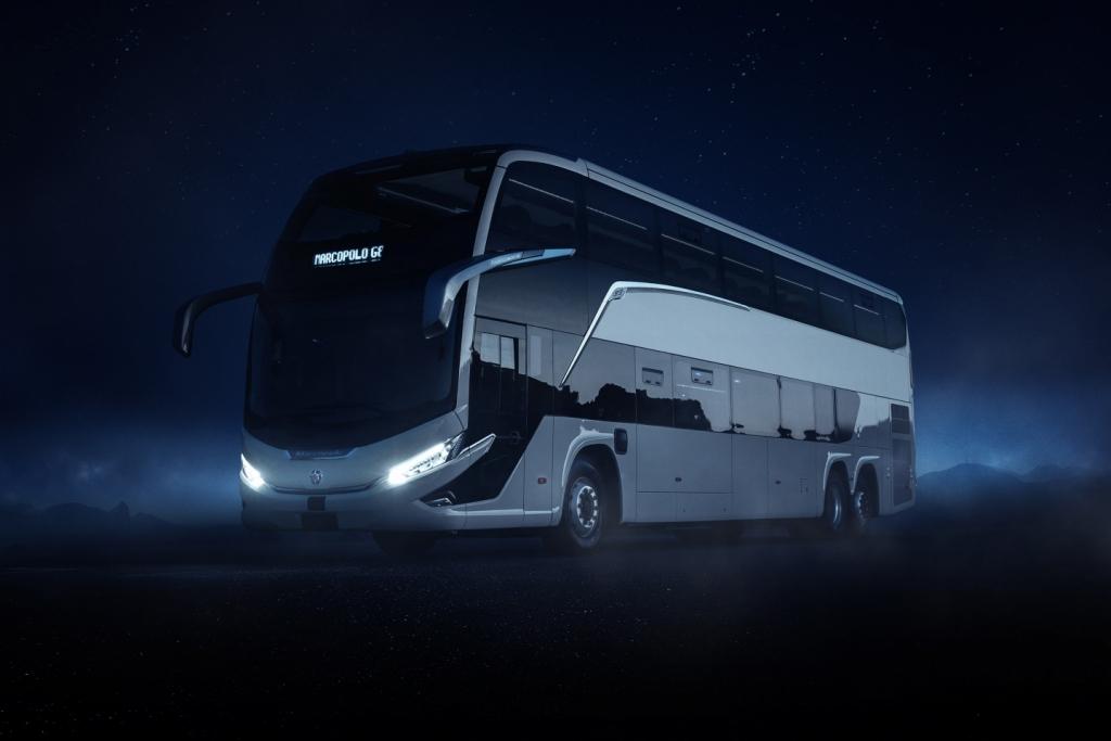 Llega al mercado G8 de Marcopolo, el transporte foráneo que te lleva al futuro