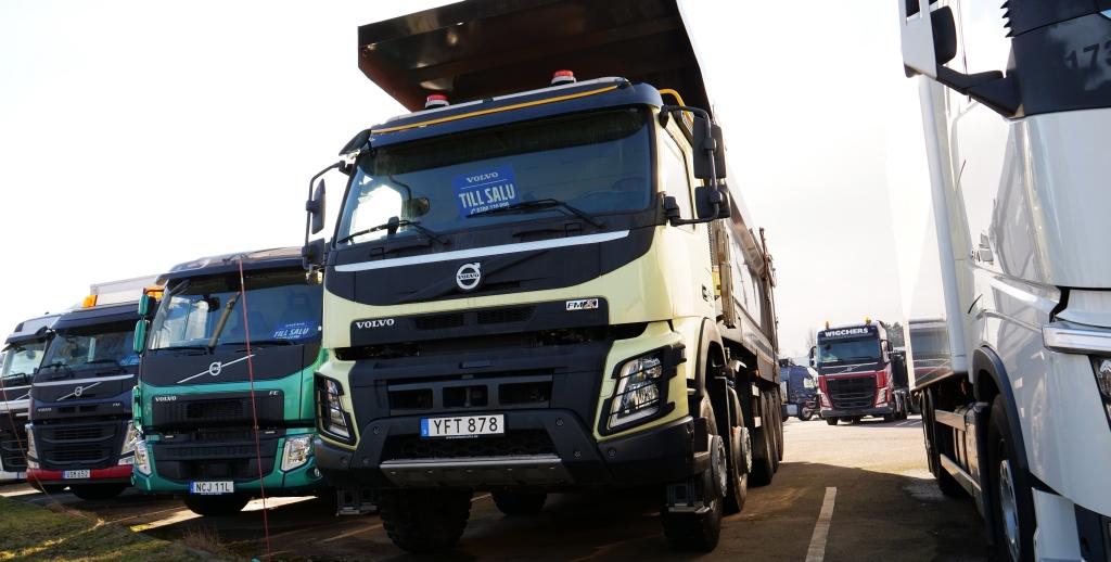 Ventas netas de Volvo Group ascienden a 90.6 mil millones de SEK durante 2T 2021
