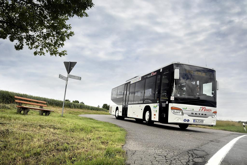 Empresa Teinachtal-Reisen de Alemania suma siete autobuses Setra