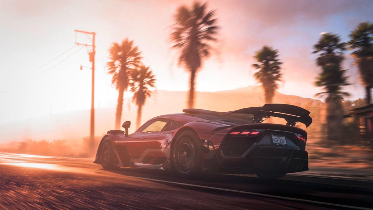 El Mercedes-AMG Project ONE es la estrella del nuevo videojuego Forza Horizon 5