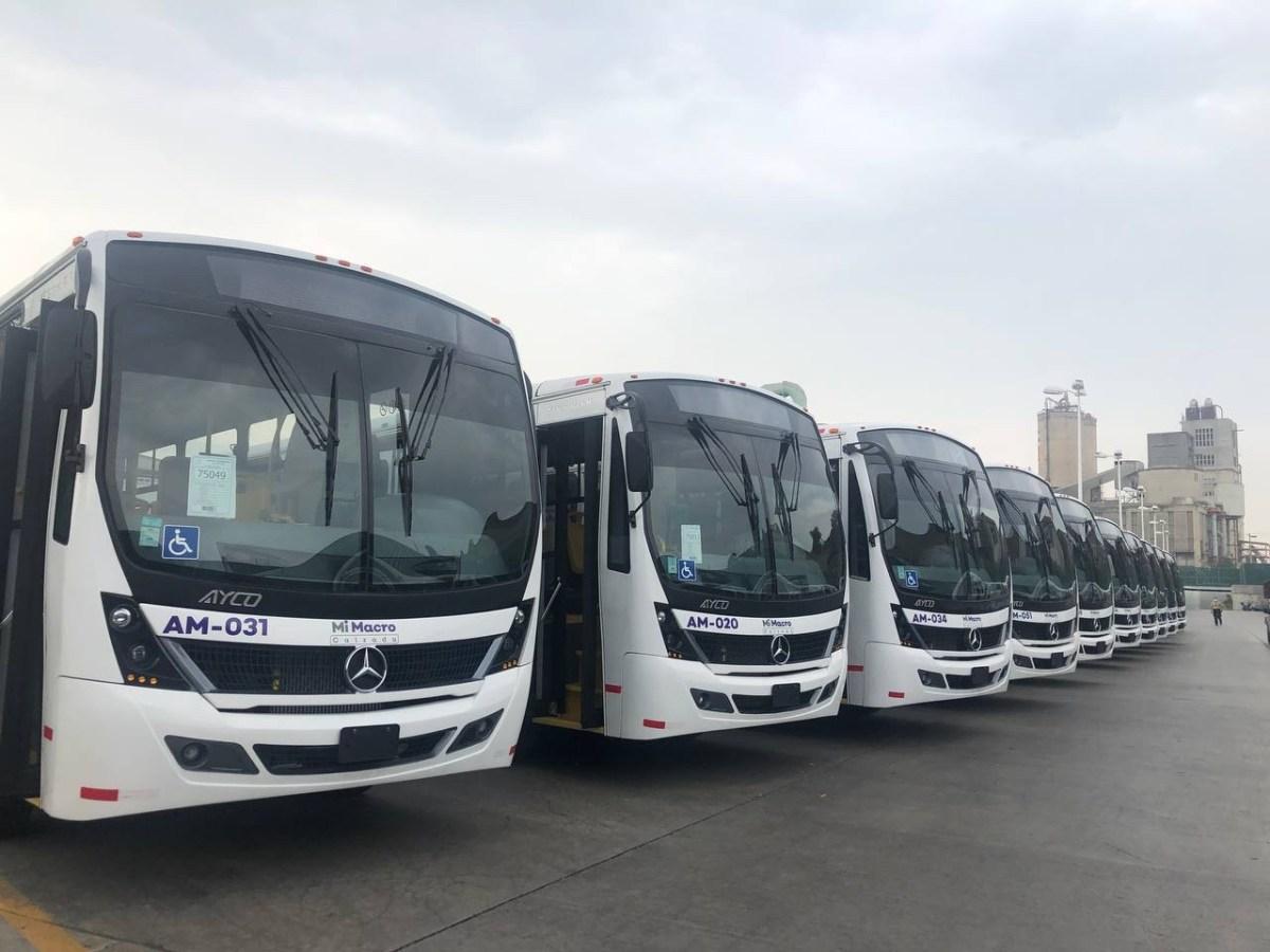 Mercedes-Benz Autobuses entrega 67 unidades para Mi Macro Calzada en Guadalajara