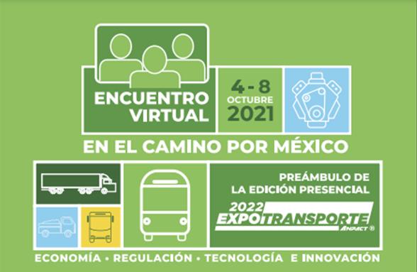 Encuentro Virtual Expo Transporte ANPACT del 4 al 8 de Octubre