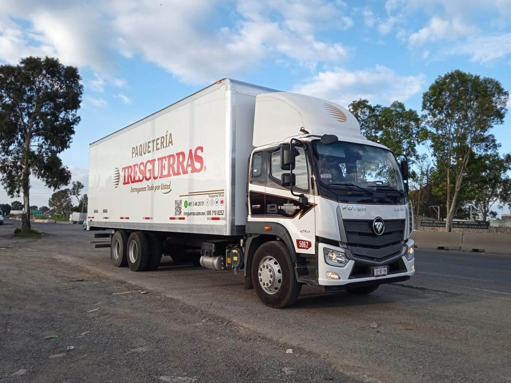 Autotransportes de Carga Tresguerras incorpora Foton a su flota
