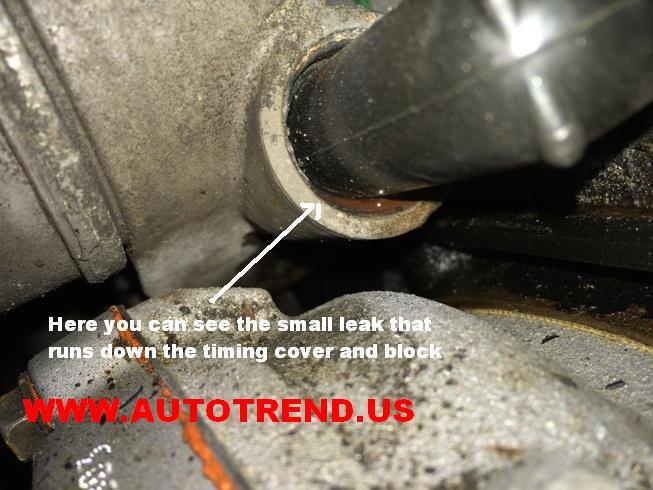 3400 Engine Coolant Leak