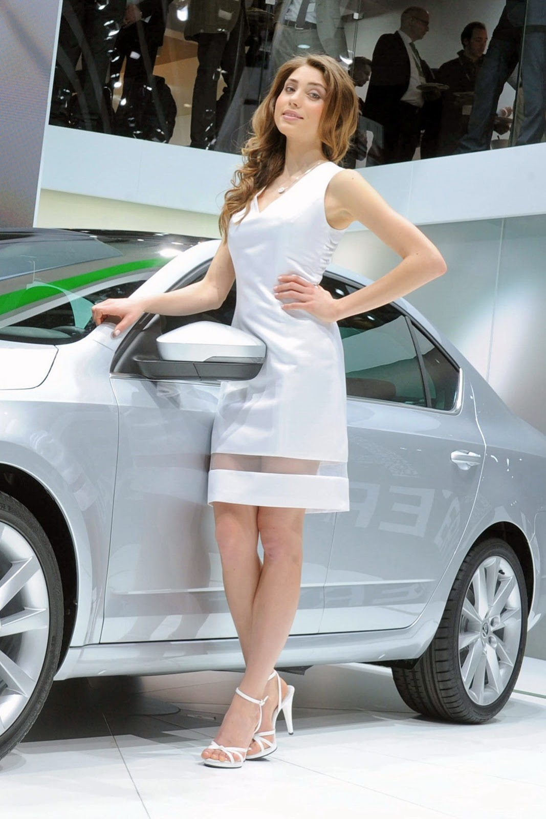 If you are in the market for a sedan that is more than just functional, then you might have some interest in both the 2020 hyundai elantra and. Geneva Motor Show Girls - AutoTribute