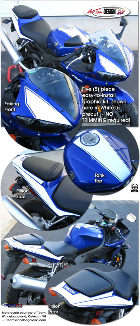 Graphic Kit 7 For Yamaha Yzf R6