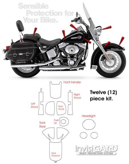 InvisiGARD Paint Protection Kit for Harley-Davidson