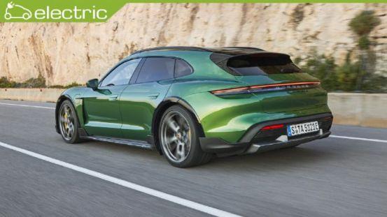 New Porsche Taycan Cross Τουρισμός